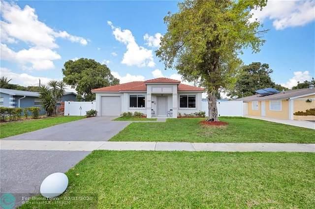 5351 NW 11th St, Lauderhill, FL 33313 (MLS #F10223560) :: Green Realty Properties