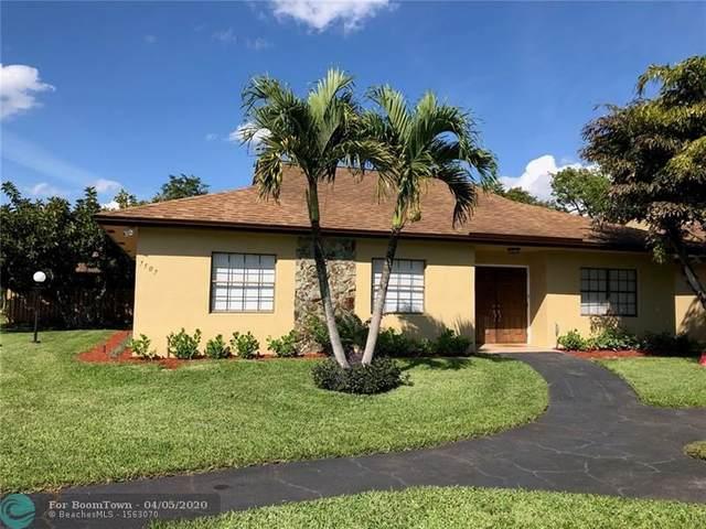 7507 SW 28th St #31, Davie, FL 33314 (MLS #F10224325) :: Green Realty Properties