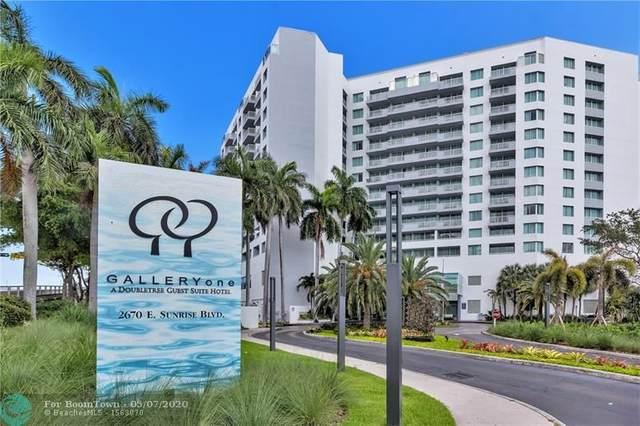 2670 E Sunrise Blvd #1203, Fort Lauderdale, FL 33304 (MLS #F10227720) :: Berkshire Hathaway HomeServices EWM Realty