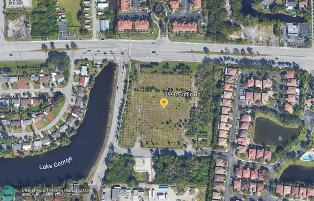 3990 Griffin Rd, Hollywood, FL 33312 (#F10230426) :: Michael Kaufman Real Estate