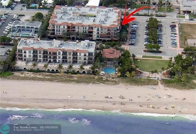 4445 El Mar Dr #308, Lauderdale By The Sea, FL 33308 (MLS #F10231909) :: Green Realty Properties