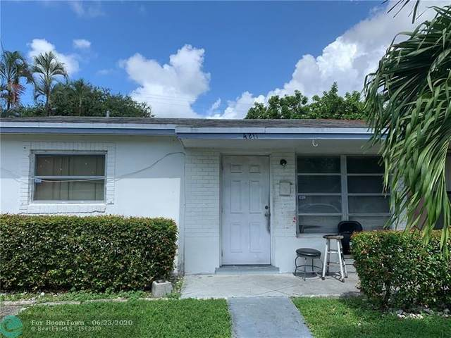 4211 NW 39th Ave, Lauderdale Lakes, FL 33309 (MLS #F10234755) :: Berkshire Hathaway HomeServices EWM Realty