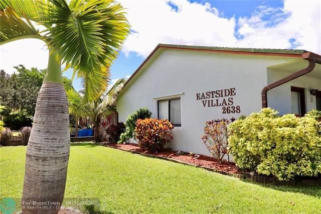 2638 Taylor St E-5, Hollywood, FL 33020 (MLS #F10234891) :: Green Realty Properties