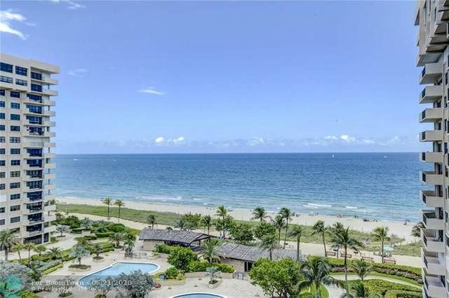 4900 N Ocean Blvd #1010, Lauderdale By The Sea, FL 33308 (MLS #F10234989) :: Berkshire Hathaway HomeServices EWM Realty