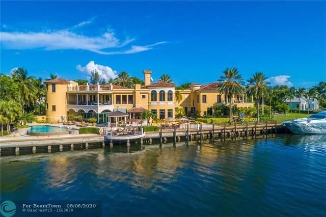 1235 E Lake Dr, Fort Lauderdale, FL 33316 (#F10234998) :: Ryan Jennings Group