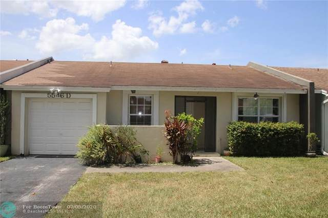 5546 Lakewood Cir S D, Margate, FL 33063 (MLS #F10235788) :: THE BANNON GROUP at RE/MAX CONSULTANTS REALTY I