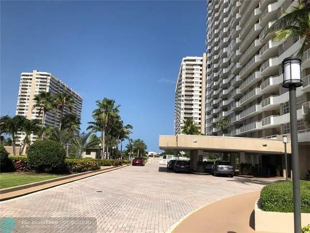 1985 S Ocean Dr 18L, Hallandale, FL 33009 (MLS #F10237009) :: Green Realty Properties