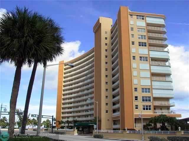 328 N Ocean Blvd #707, Pompano Beach, FL 33062 (MLS #F10237324) :: Castelli Real Estate Services