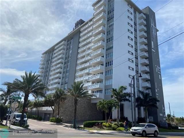 3111 N Ocean Dr #910, Hollywood, FL 33019 (MLS #F10237833) :: Berkshire Hathaway HomeServices EWM Realty