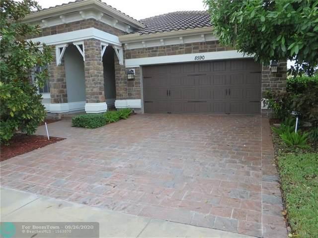 8590 Lakeside Bnd, Parkland, FL 33076 (#F10238488) :: Signature International Real Estate