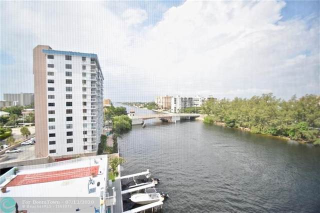 1505 N Riverside Dr #804, Pompano Beach, FL 33062 (MLS #F10238541) :: Green Realty Properties