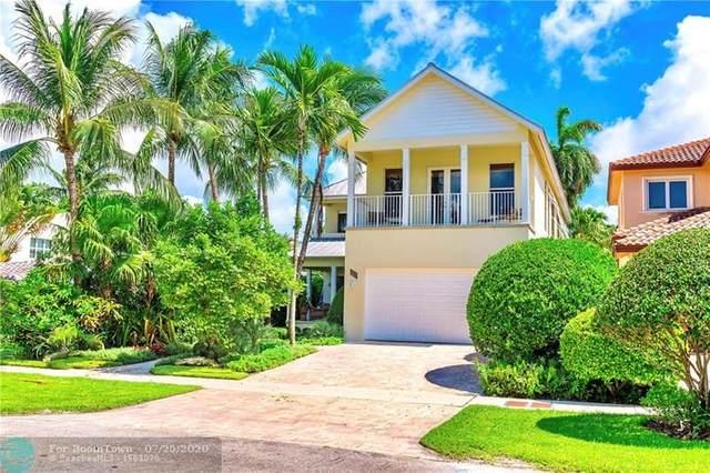 916 Ponce De Leon Dr, Fort Lauderdale, FL 33316 (MLS #F10239137) :: The Howland Group