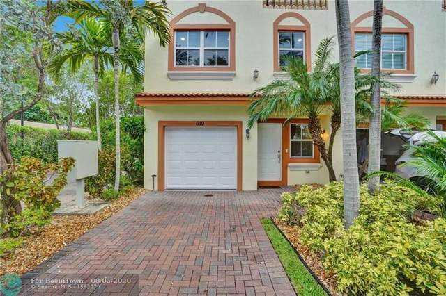 619 NE 8th Ave #619, Fort Lauderdale, FL 33304 (MLS #F10240572) :: The Howland Group