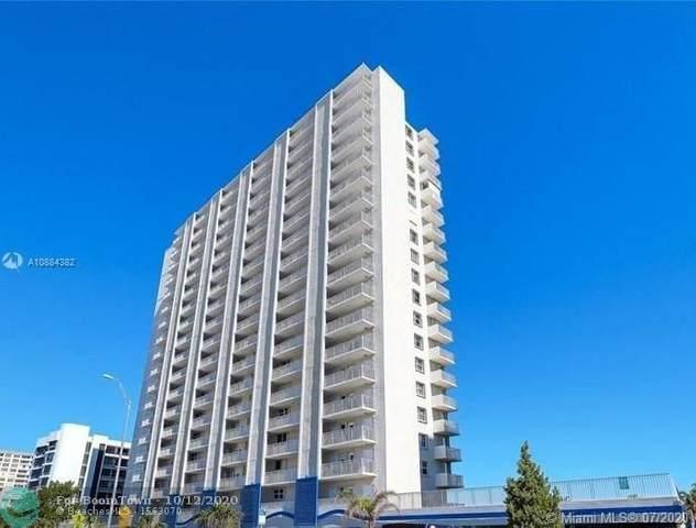 750 N Ocean Blvd #1507, Pompano Beach, FL 33062 (MLS #F10241550) :: Berkshire Hathaway HomeServices EWM Realty