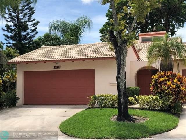 5518 Dogwood Way #5518, Tamarac, FL 33319 (MLS #F10242626) :: Green Realty Properties