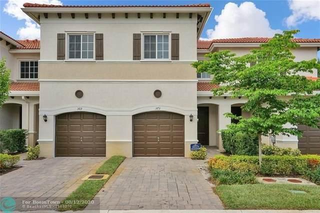 373 NE 47th Pl #373, Deerfield Beach, FL 33064 (MLS #F10243080) :: Berkshire Hathaway HomeServices EWM Realty
