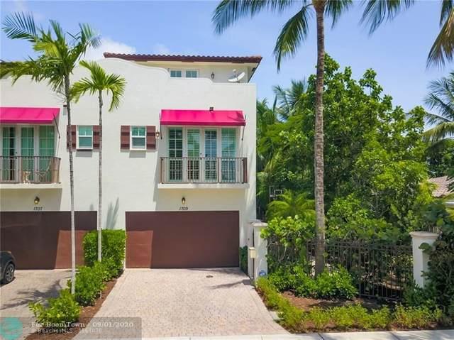 1709 NE 8th St #1709, Fort Lauderdale, FL 33304 (#F10245814) :: Ryan Jennings Group