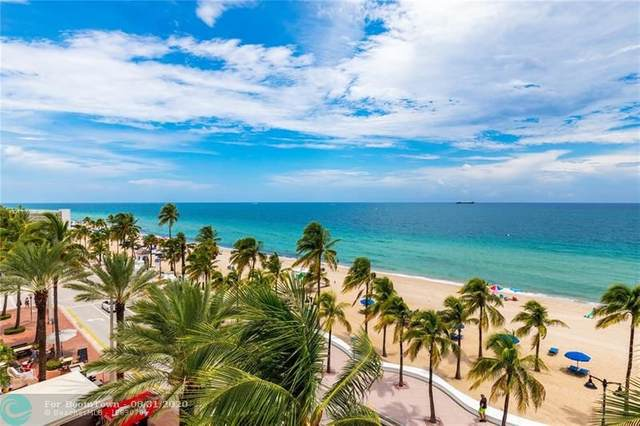 101 S Fort Lauderdale Beach Blvd #508, Fort Lauderdale, FL 33316 (MLS #F10246194) :: Patty Accorto Team