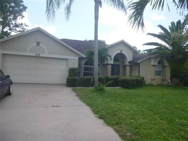 337 SE Fisk Rd, Port Saint Lucie, FL 34984 (#F10246908) :: Michael Kaufman Real Estate