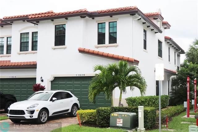 11628 SW 13th Ln #11628, Pembroke Pines, FL 33025 (MLS #F10248982) :: Berkshire Hathaway HomeServices EWM Realty