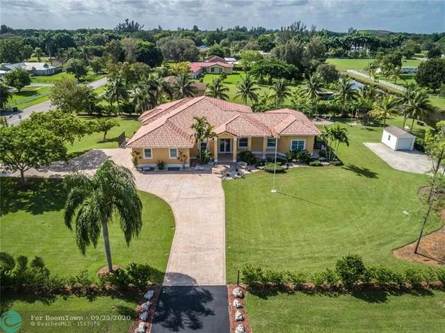 19640 Griffin Road, Southwest Ranches, FL 33332 (MLS #F10250074) :: Green Realty Properties