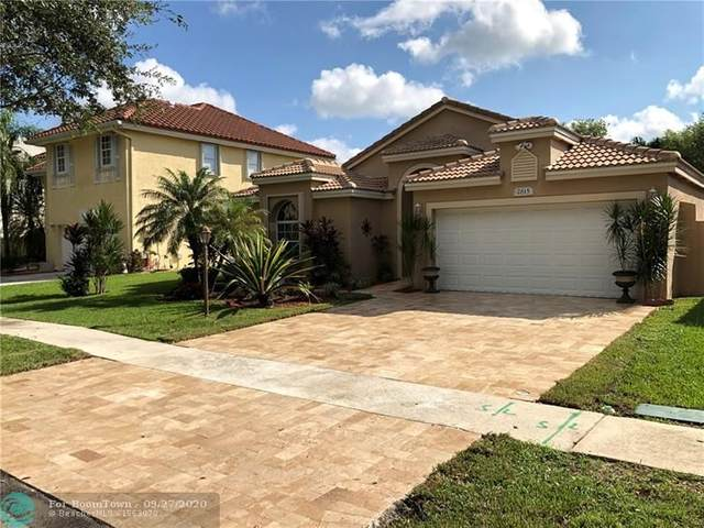 2815 Cayenne Ave, Cooper City, FL 33026 (MLS #F10250890) :: Green Realty Properties