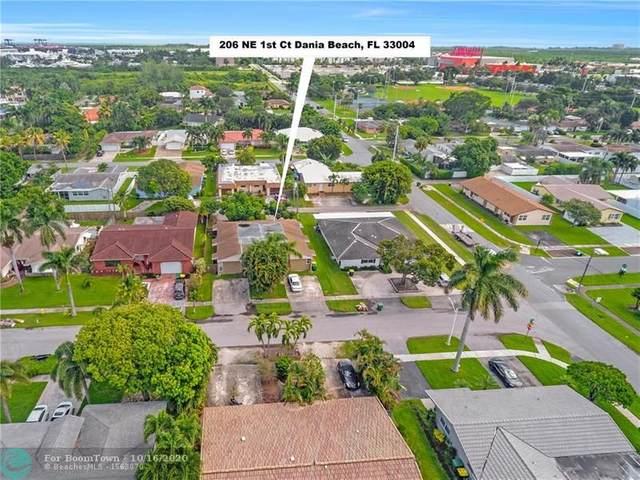 206 NE 1st Ct, Dania Beach, FL 33004 (MLS #F10250952) :: Berkshire Hathaway HomeServices EWM Realty