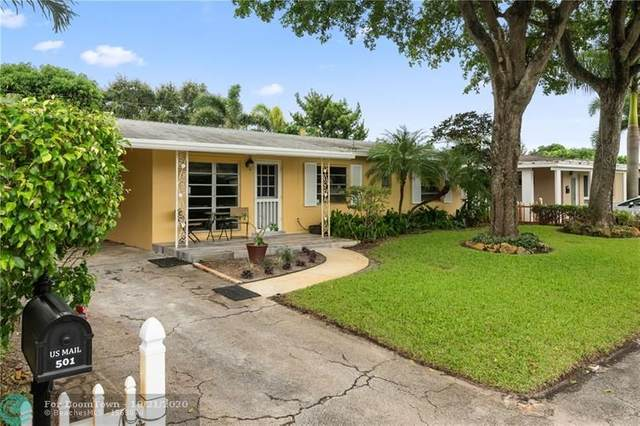 501 NW 28th Ct, Wilton Manors, FL 33311 (MLS #F10254358) :: Castelli Real Estate Services