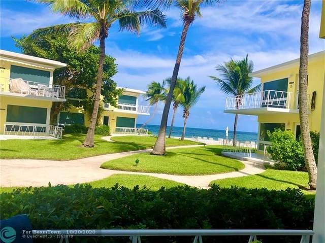 1398 S Ocean Blvd #3, Pompano Beach, FL 33062 (MLS #F10254410) :: Berkshire Hathaway HomeServices EWM Realty
