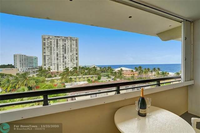 401 Briny Ave #707, Pompano Beach, FL 33062 (MLS #F10255181) :: Berkshire Hathaway HomeServices EWM Realty