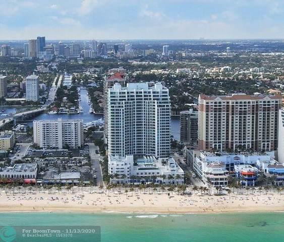 101 S Fort Lauderdale Beach Blvd #1807, Fort Lauderdale, FL 33316 (MLS #F10257408) :: Castelli Real Estate Services