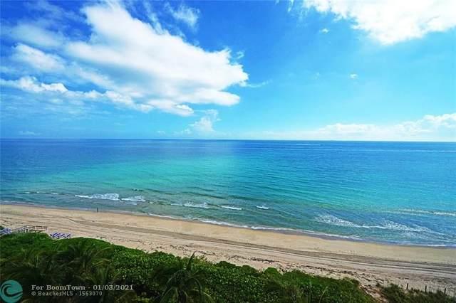 1063 Hillsboro Mile #702, Hillsboro Beach, FL 33062 (MLS #F10257623) :: Dalton Wade Real Estate Group