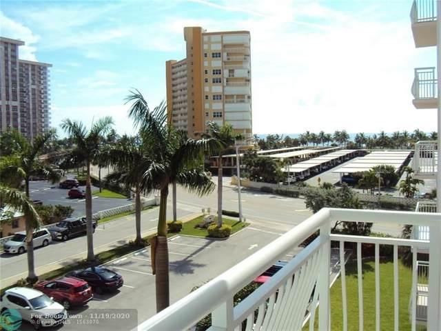 301 N Ocean Blvd #403, Pompano Beach, FL 33062 (MLS #F10259142) :: Berkshire Hathaway HomeServices EWM Realty