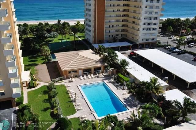 1630 N Ocean Blvd #615, Pompano Beach, FL 33062 (MLS #F10260814) :: Berkshire Hathaway HomeServices EWM Realty