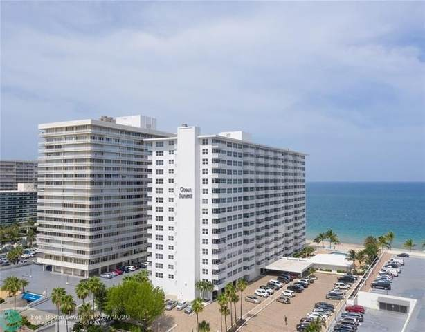 4010 Galt Ocean Dr #814, Fort Lauderdale, FL 33308 (MLS #F10261413) :: Green Realty Properties