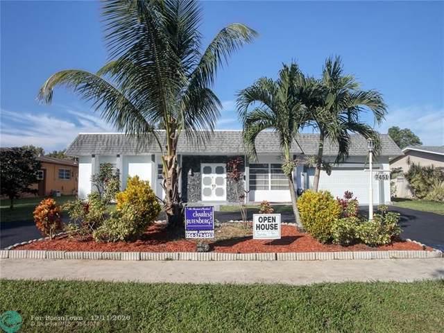 7451 NW 13th St, Plantation, FL 33313 (MLS #F10261627) :: Castelli Real Estate Services