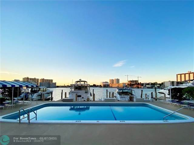 126 Golden Isles Dr 42A, Hallandale, FL 33009 (MLS #F10262407) :: United Realty Group