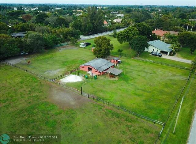11701 SW 20th St, Davie, FL 33325 (MLS #F10266107) :: Green Realty Properties