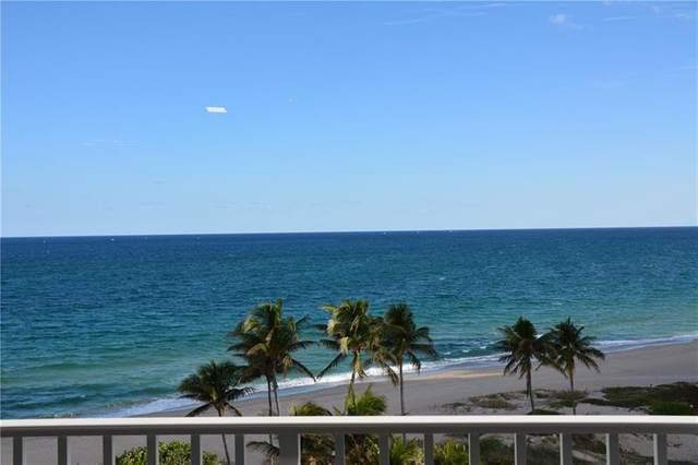 1340 S Ocean Blvd #708, Pompano Beach, FL 33062 (MLS #F10266213) :: Green Realty Properties
