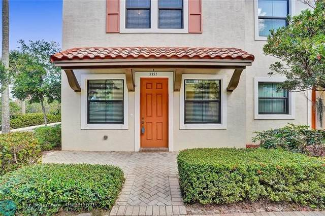 3351 NW 126th Ave #3351, Sunrise, FL 33323 (MLS #F10266279) :: Green Realty Properties