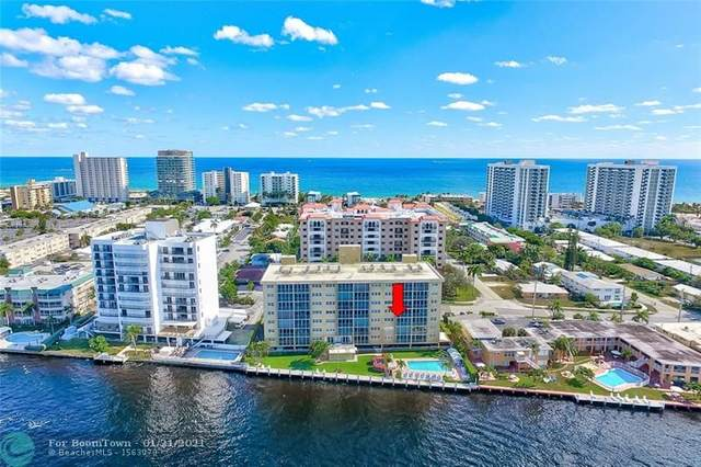 615 N Riverside Dr #402, Pompano Beach, FL 33062 (MLS #F10266913) :: Green Realty Properties