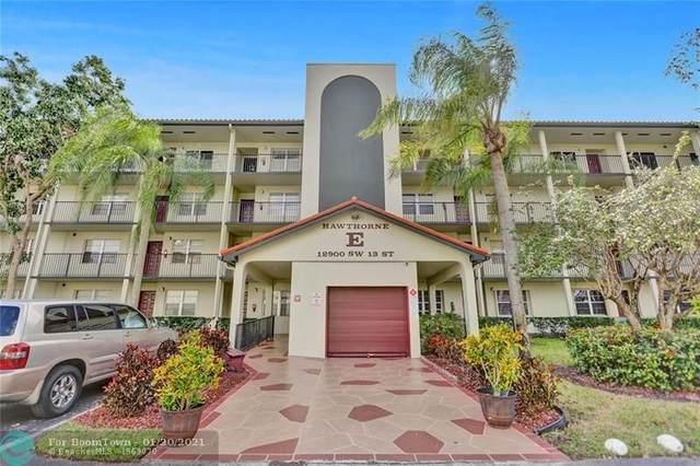 12900 SW 13th St #203, Pembroke Pines, FL 33027 (MLS #F10267037) :: Patty Accorto Team