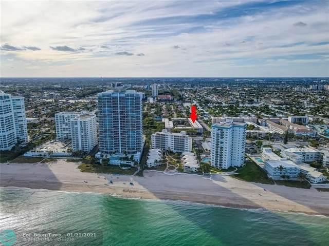 1501 S Ocean Blvd #207, Pompano Beach, FL 33062 (MLS #F10267529) :: Patty Accorto Team