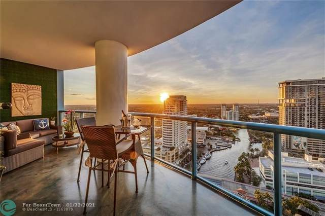 333 Las Olas Way #2702, Fort Lauderdale, FL 33301 (MLS #F10267749) :: THE BANNON GROUP at RE/MAX CONSULTANTS REALTY I