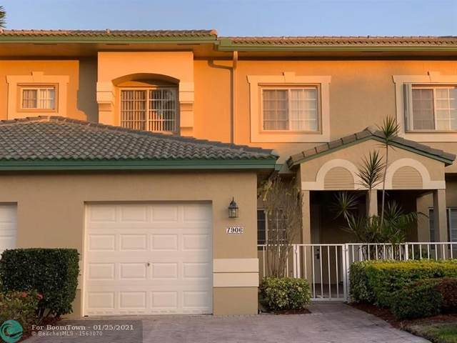 7906 Exeter Cir #101, Tamarac, FL 33321 (MLS #F10267932) :: Green Realty Properties