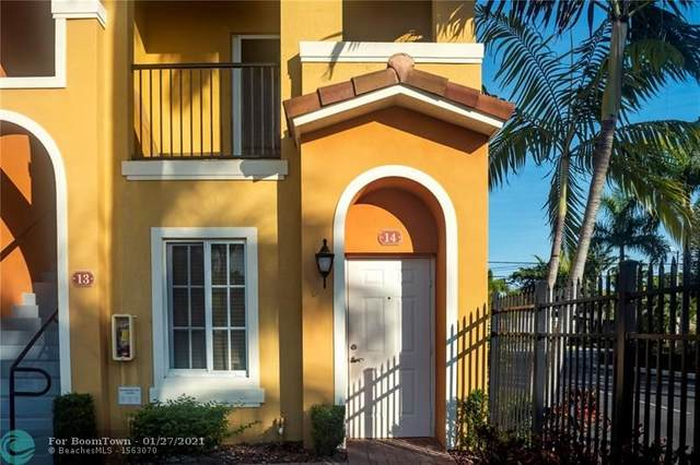 121 NW 2nd Ave #14, Hallandale, FL 33009 (MLS #F10268149) :: Castelli Real Estate Services