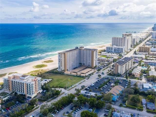 1012 N Ocean Blvd #1208, Pompano Beach, FL 33062 (MLS #F10268861) :: Green Realty Properties