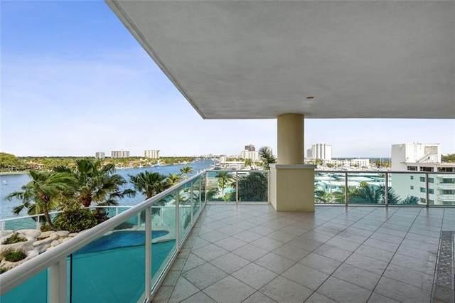 3055 Harbor Drive #701, Fort Lauderdale, FL 33316 (MLS #F10269515) :: Green Realty Properties