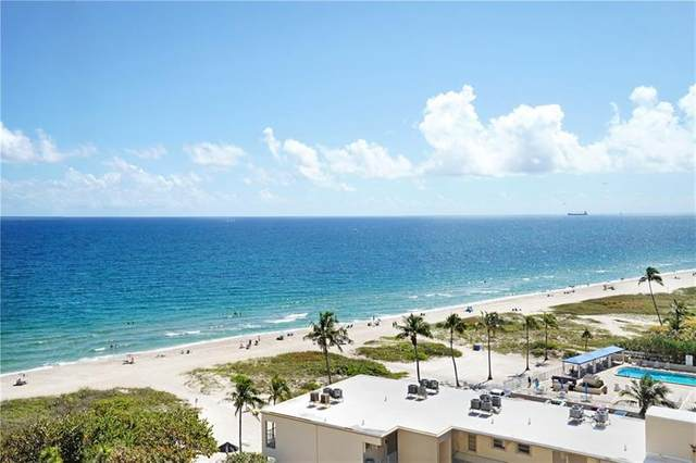 1900 S Ocean Blvd 10C, Pompano Beach, FL 33062 (MLS #F10272231) :: Castelli Real Estate Services