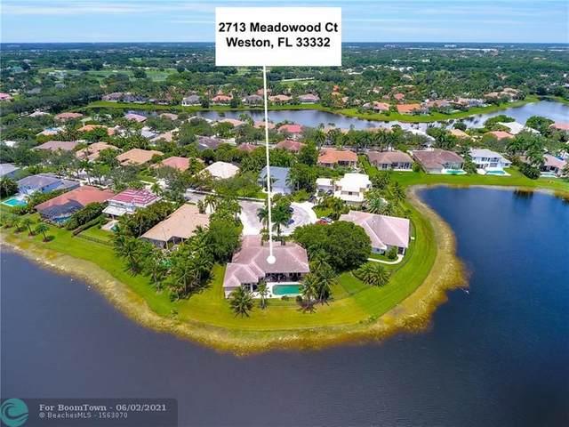 2713 Meadowood Ct, Weston, FL 33332 (MLS #F10275064) :: The Paiz Group